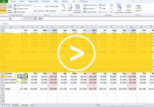 Viewing Excel Sheets Side by Side